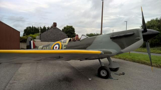 The Withiel Spitfire
